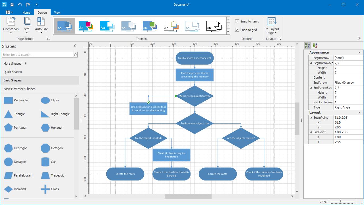 Winforms Diagram