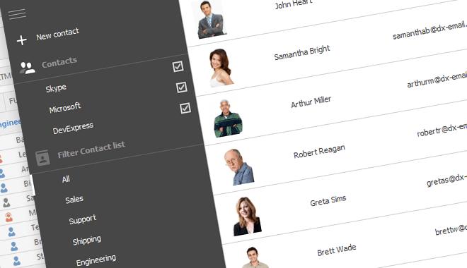WinForms Ribbon, Toolbar, Menu Controls   DevExpress