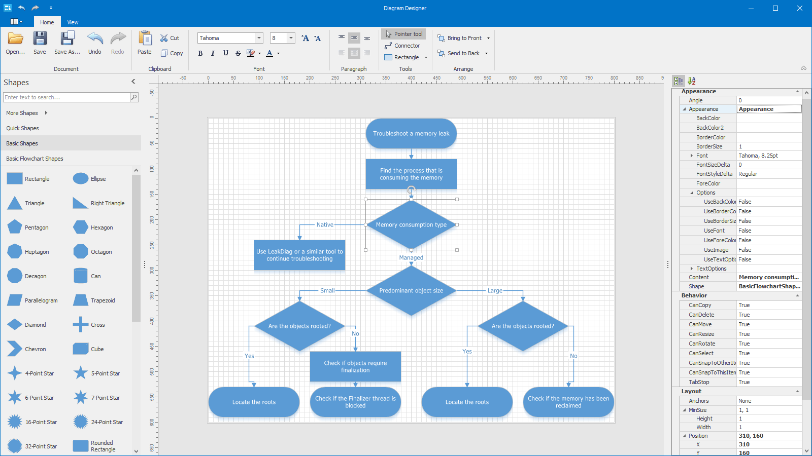 Devexpress diagram for winforms visual studio marketplace devexpress winforms diagram designer ccuart Image collections