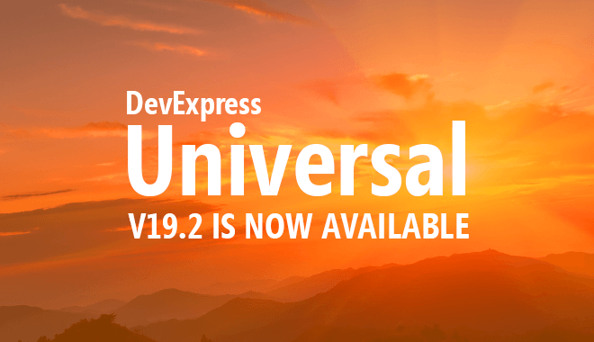 DevExpress v19.2 is Now Shipping