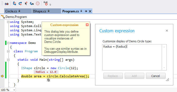 New in CodeRush - Custom Expressions