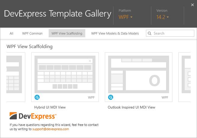 WPF Template Gallery