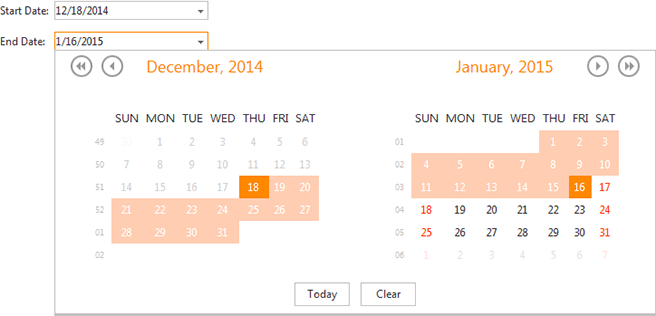 DevExpress ASP.NET Calendar - Disable Individual Dates