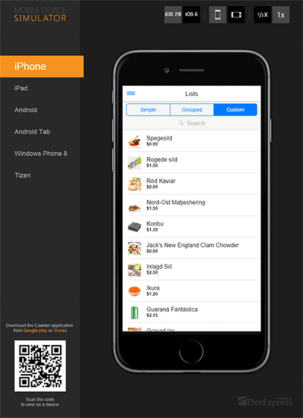 DevExtreme iOS8 Support
