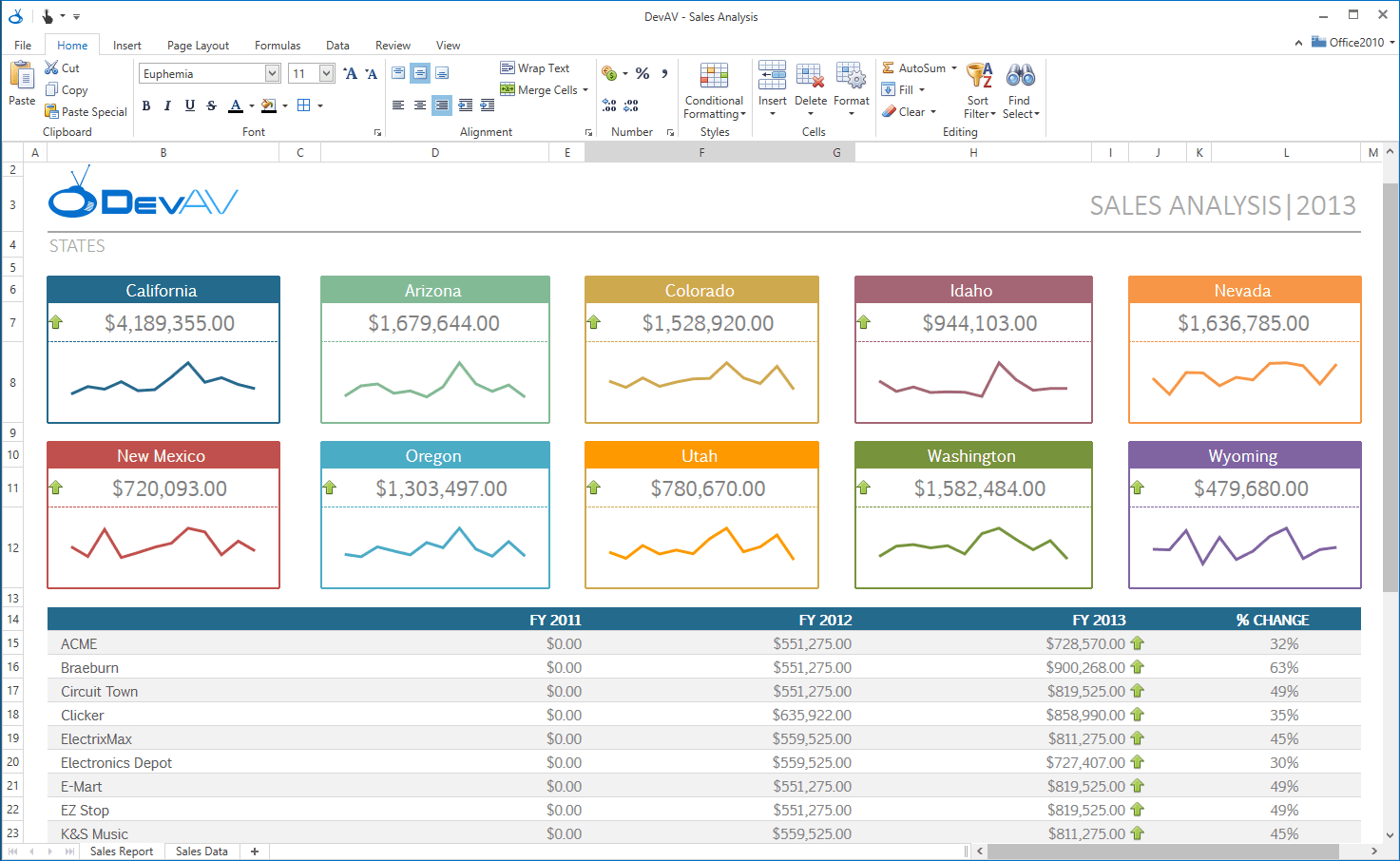 Office 2016 White Theme