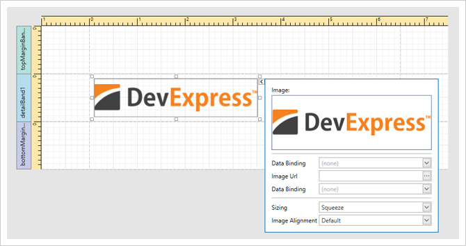 .NET Reporting for WPF - Smart Tags for Report Elements in the Report Designer | DevExpress