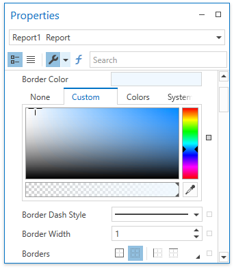 WPF Reporting - Office-Inspired Property Grid | DevExpress