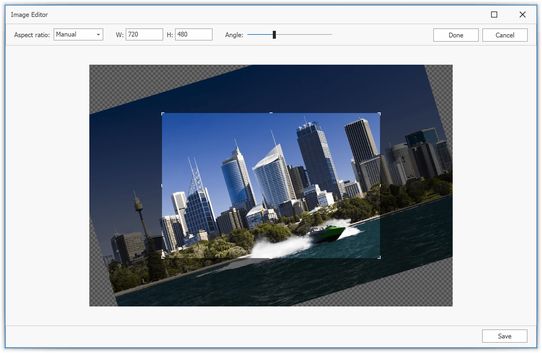 PictureEdit - Image Editor Dialog, WinForms Data Editors | DevExpress