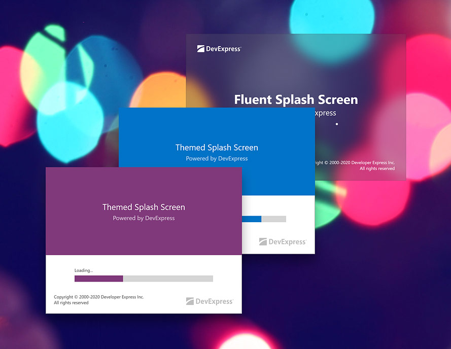 WPF Splash Screen | DevExpress