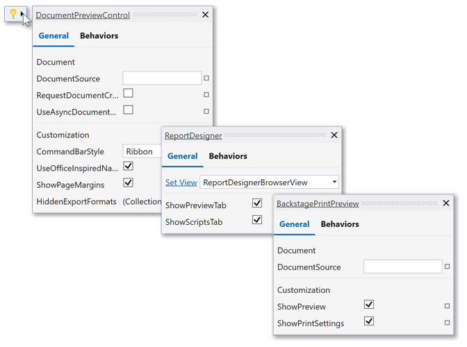 Suggested Actions for WPF .NET Core Reporting | DevExpress