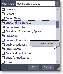 WinForms Pivot Table - Filter Dropdown Enhancements
