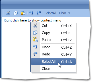 WPF Context Menu Control