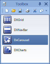 WPF Dock Windows - Integrated Toolbars