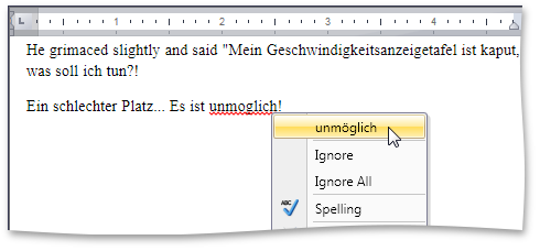 DXSpellChecker for WPF supports Hunspell Dictionaries