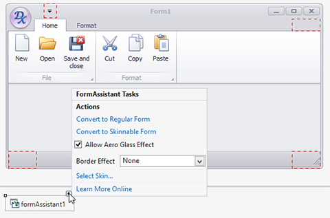 WinForms Form Assistant Component
