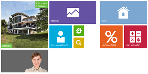 WinRT Tile Control: Windows 8.1 Features