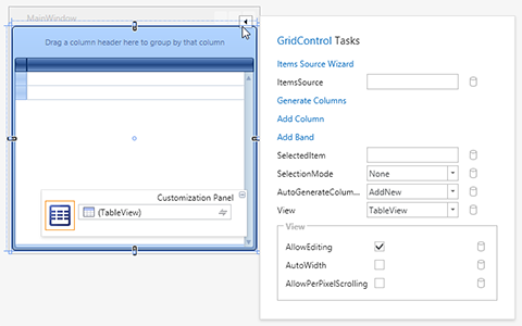 WPF Controls - Smart Tag Extensions