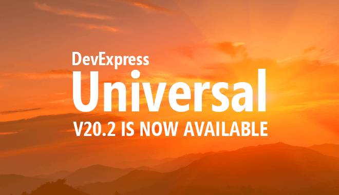 DevExpress v20.2 is Now Shipping