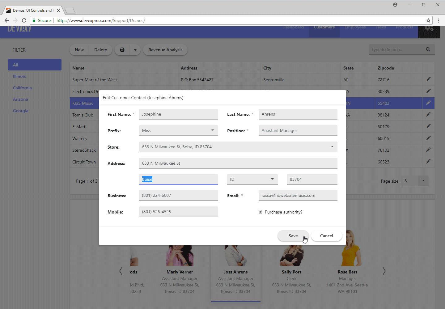 ASP.NET Bootstrap Web Forms App - Automatic Layout in Popup Edit Form