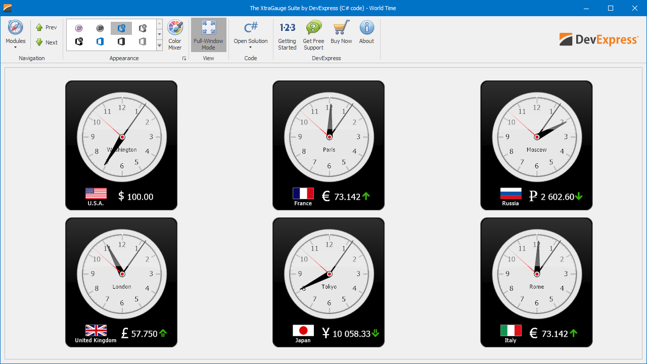 WinForms Gauge & Indicators Controls | DevExpress
