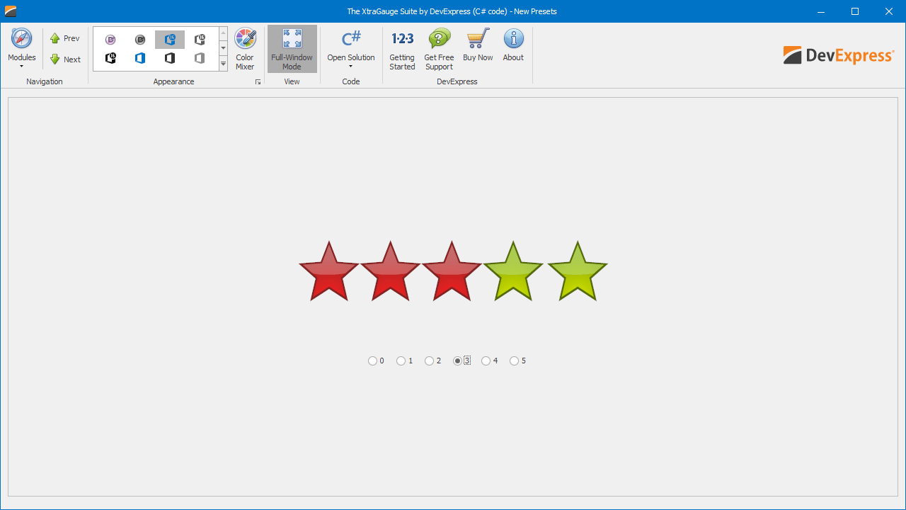 Rating & Progress Indicators