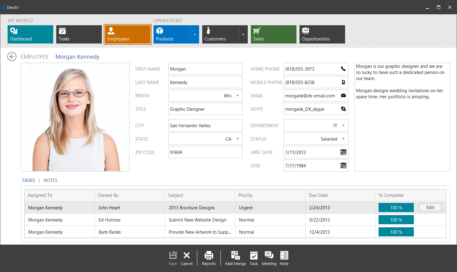 Tablet Application Built with Office-Inspired WinForms Controls
