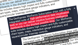 WinForms Text Editors | DevExpress