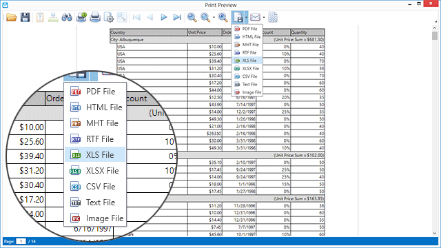 WPF Grid Control - DevExpress DataGrid for Visual Studio Developers