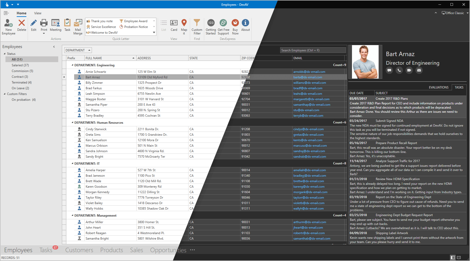 WPF Office 2019 Themes