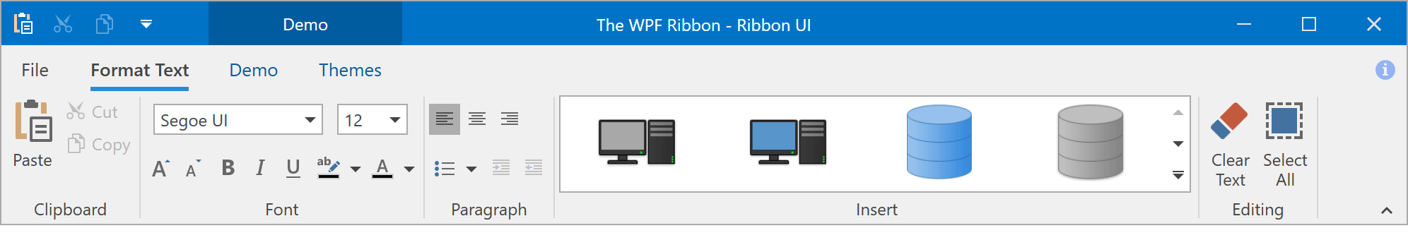 Office 2019 Style - WPF Ribbon, DevExpress
