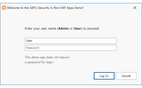 Security System for Entity Framework Core - XAF | DevExpress