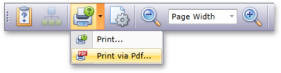 Support for PDF printing in Silverlight